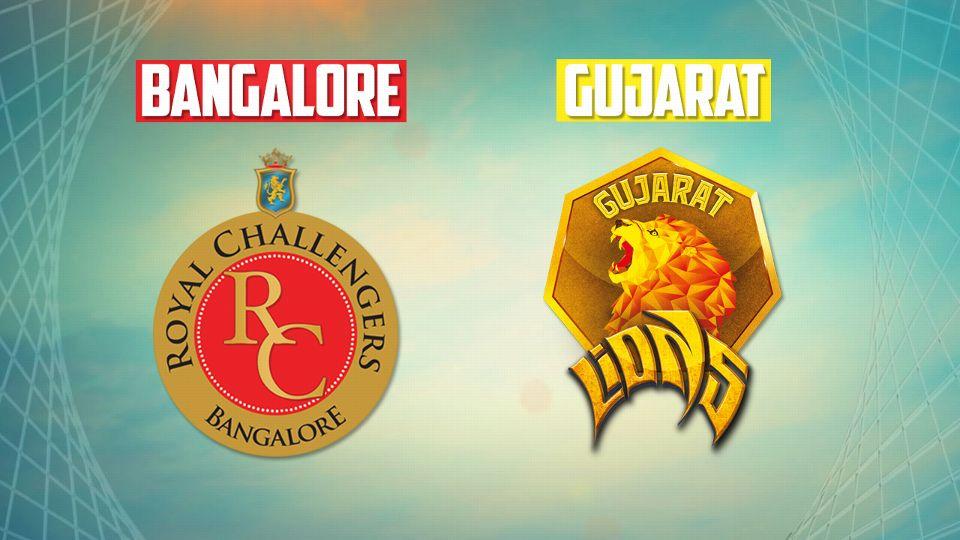 गुजरात की आँखे बंगलौर को हरा पॉइंट टेबल पर टॉप पर पहुंचने की 11