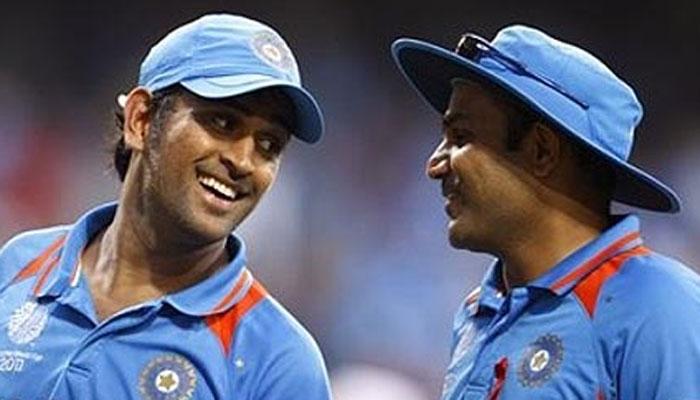 इरफान पठान को टीम में न लेने पर वीरेंद्र सहवाग ने उड़ाया महेंद्र सिंह धोनी का मजाक