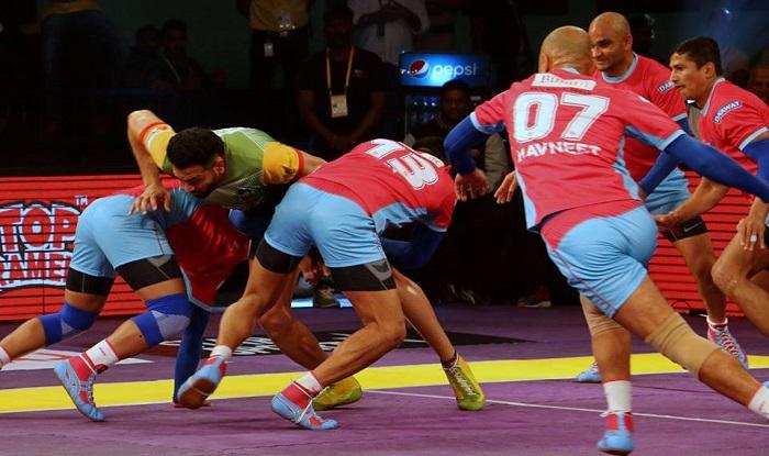 प्रो कबड्डी लीग : जयपुर ने दर्ज की पहली जीत