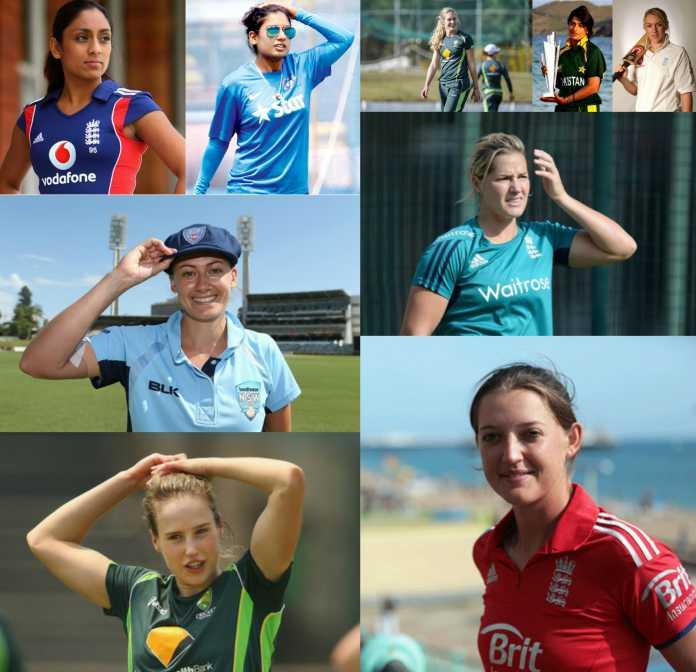 विश्व की 10 सबसे सुंदर महिला क्रिकेटर्स