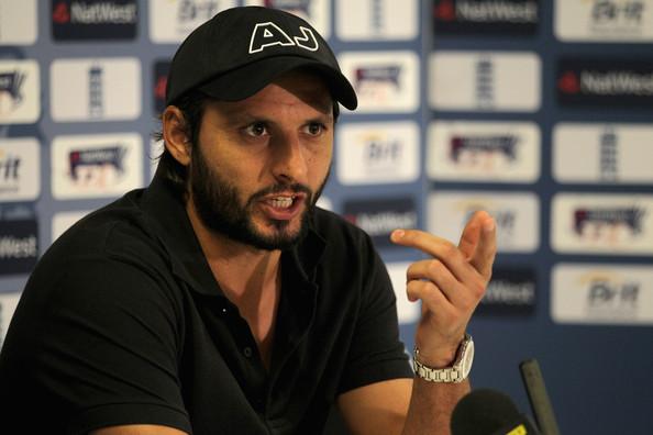 टी-ट्वेंटी और वन-डे क्रिकेट खेलते रहना चाहता हूँ: शाहिद अफरीदी