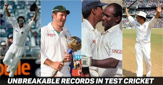टेस्ट क्रिकेट के 11 ऐसे रिकॉर्ड जो आज तक नहीं टूट सके
