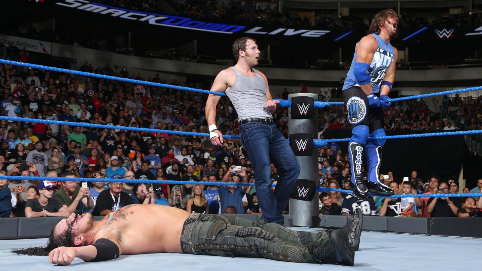 WWE SMACK DOWN रिजल्ट : 30 अगस्त 2016