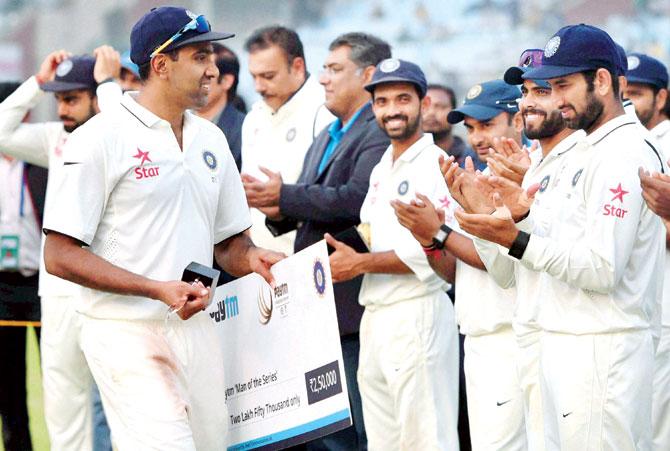 टेस्ट क्रिकेट में सबसे ज्यादा 'मैन ऑफ़ द सीरीज' अवार्ड जीतने वाले 10 भारतीय खिलाड़ी