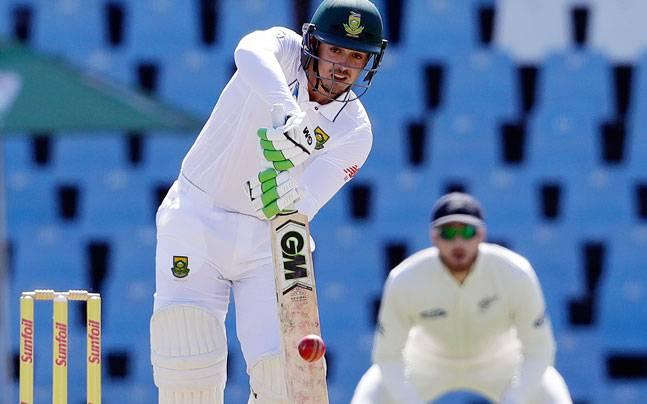 SA v ENG : क्विंटन डी कॉक की शानदार पारी के दम पर पहले दिन साउथ अफ्रीका 277/9 रन 1