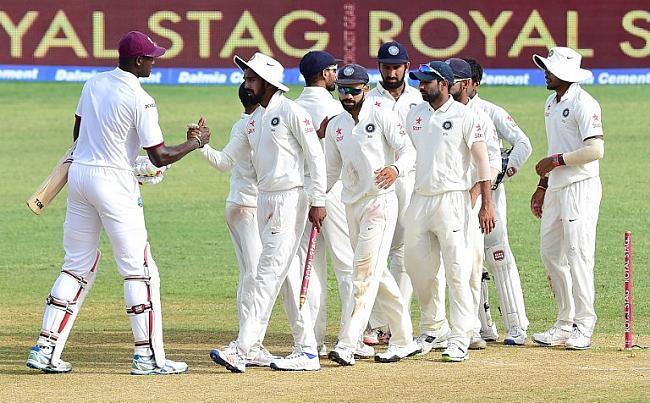 जमैका टेस्ट : चेस के शतक से वेस्टइंडीज ने दूसरा मैच ड्रॉ कराया
