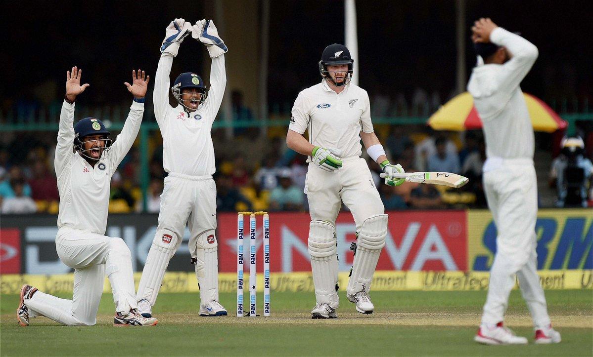 कानपुर टेस्ट : कीवी बल्लेबाजों के बाद भारत को बारिश ने किया परेशान