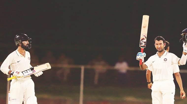दुलीप ट्राफी फाइनल : इंडिया ब्ल्यू के लिए गंभीर और पुजारा की शानदार बल्लेबाज़ी से मैच में मज़बूत पकड़ 9