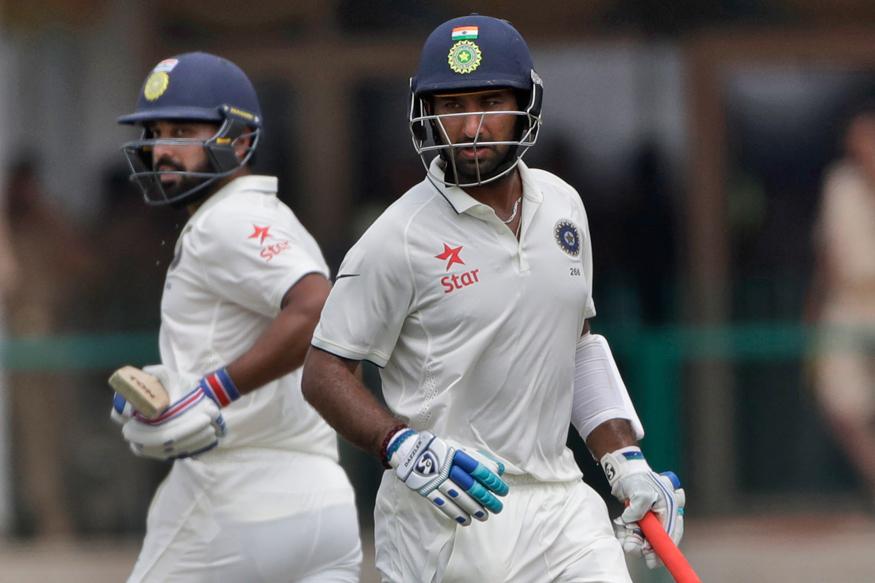 भारत बनाम न्यूज़ीलैंड: चौथा दिन: भारत कों लगा मुरली विजय के रूप में पहला झटका, कप्तान विराट कोहली बल्लेबाजी के लिए आये