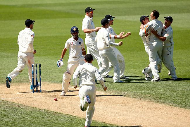 पहले ही दिन अभ्यास मैच में मुंबई रणजी टीम ने दिया न्यूज़ीलैंड कों कड़ी टक्कर