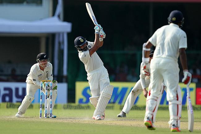 कानपुर टेस्ट : पहले दिन स्टम्प्स तक भारत ने बनाए 9 विकेट पर 291 रन