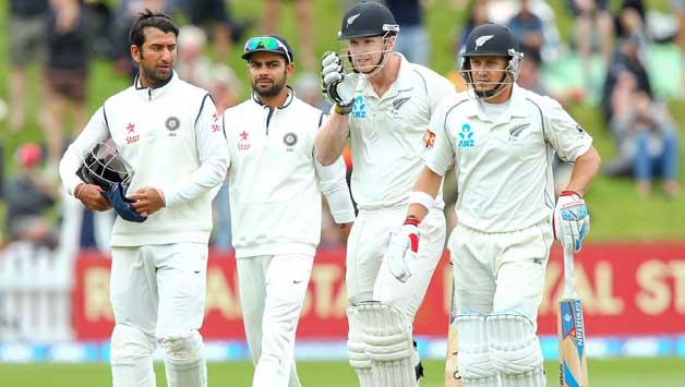 इंदौर टेस्ट : भारत ने 557 रनों पर घोषित की पारी 8