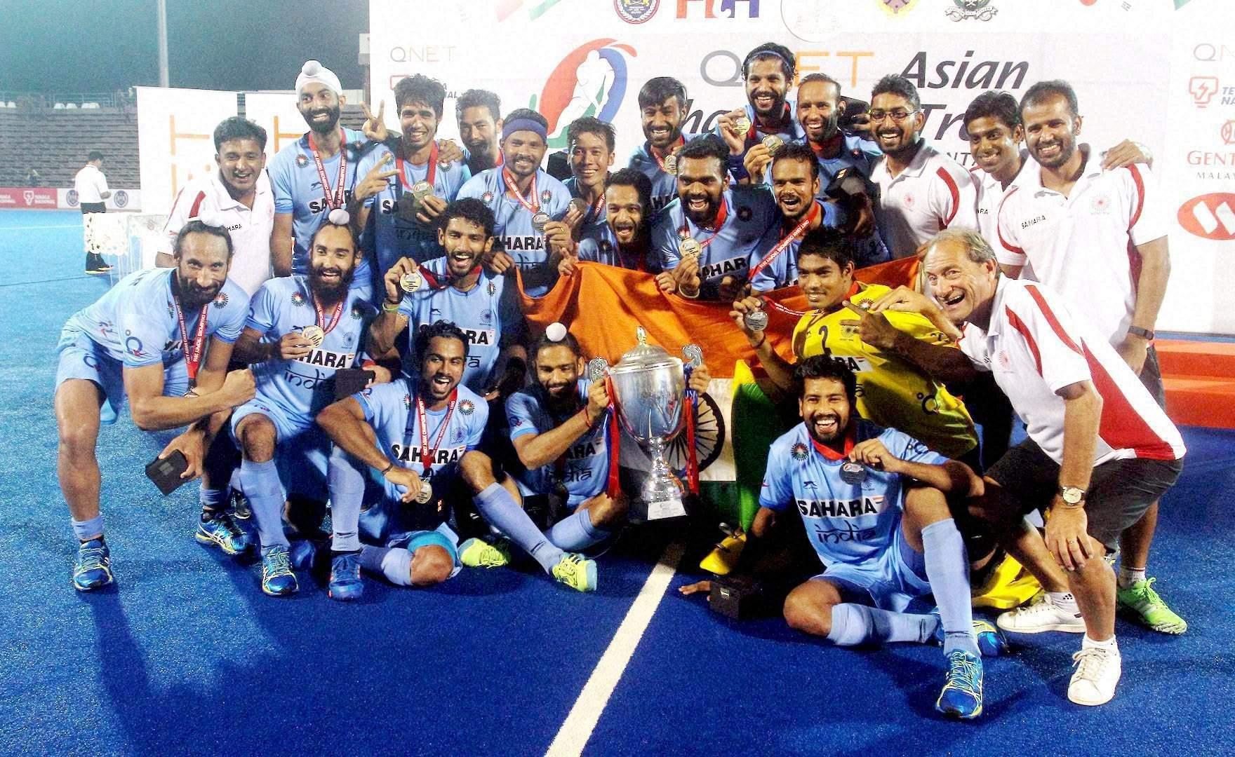 हॉकी : भारत ने जीती एशियन चैपियंस ट्रॉफी, पुरस्कारों, बधाइयों की झड़ी 10