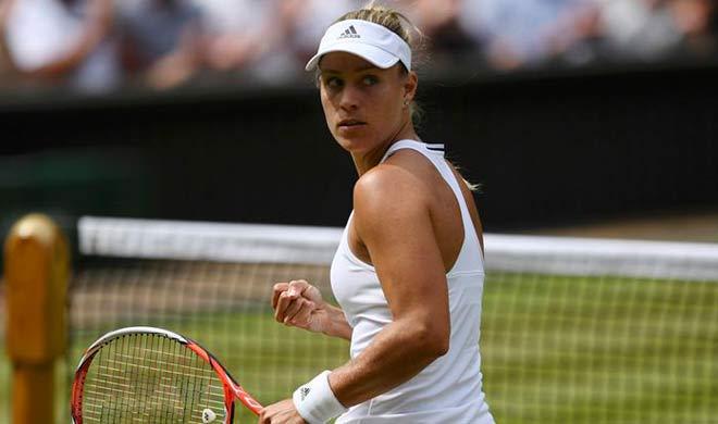 टेनिस : डब्ल्यूटीए फाइनल्स में केर्बर ने हालेप को हराया