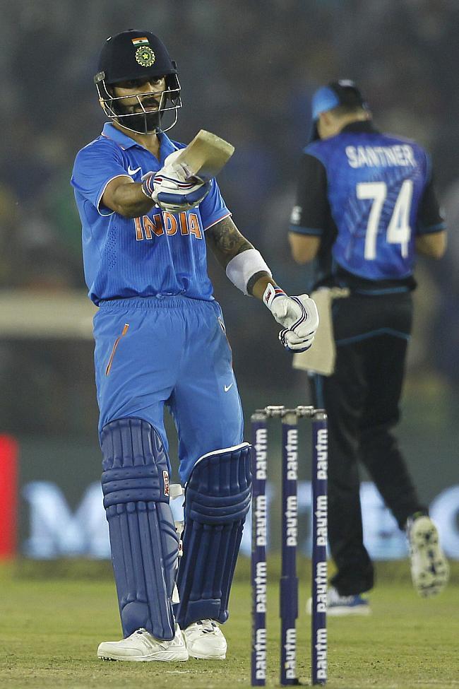 7 विकेट से जीत भारत ने न्यूज़ीलैंड पर बनाया 2-1 की बढ़त 18