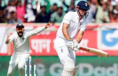 विशाखापट्नम टेस्ट : चौथे दिन चायकाल तक इंग्लैंड ने बनाए 40 रन