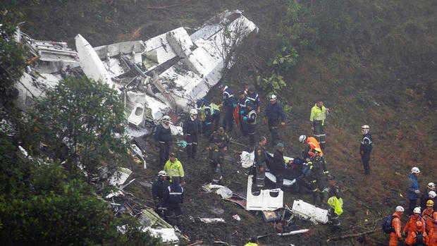 कोलंबिया विमान हादसा : एटीसी को थी हादसे की शंका