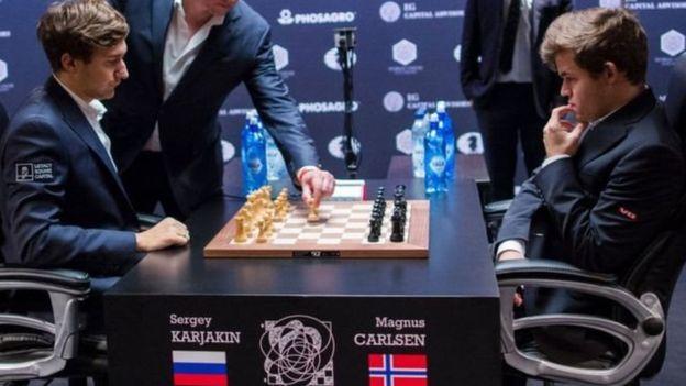 शतरंज : कार्लसन ने कारजाकिन को हरा बचाया खिताब