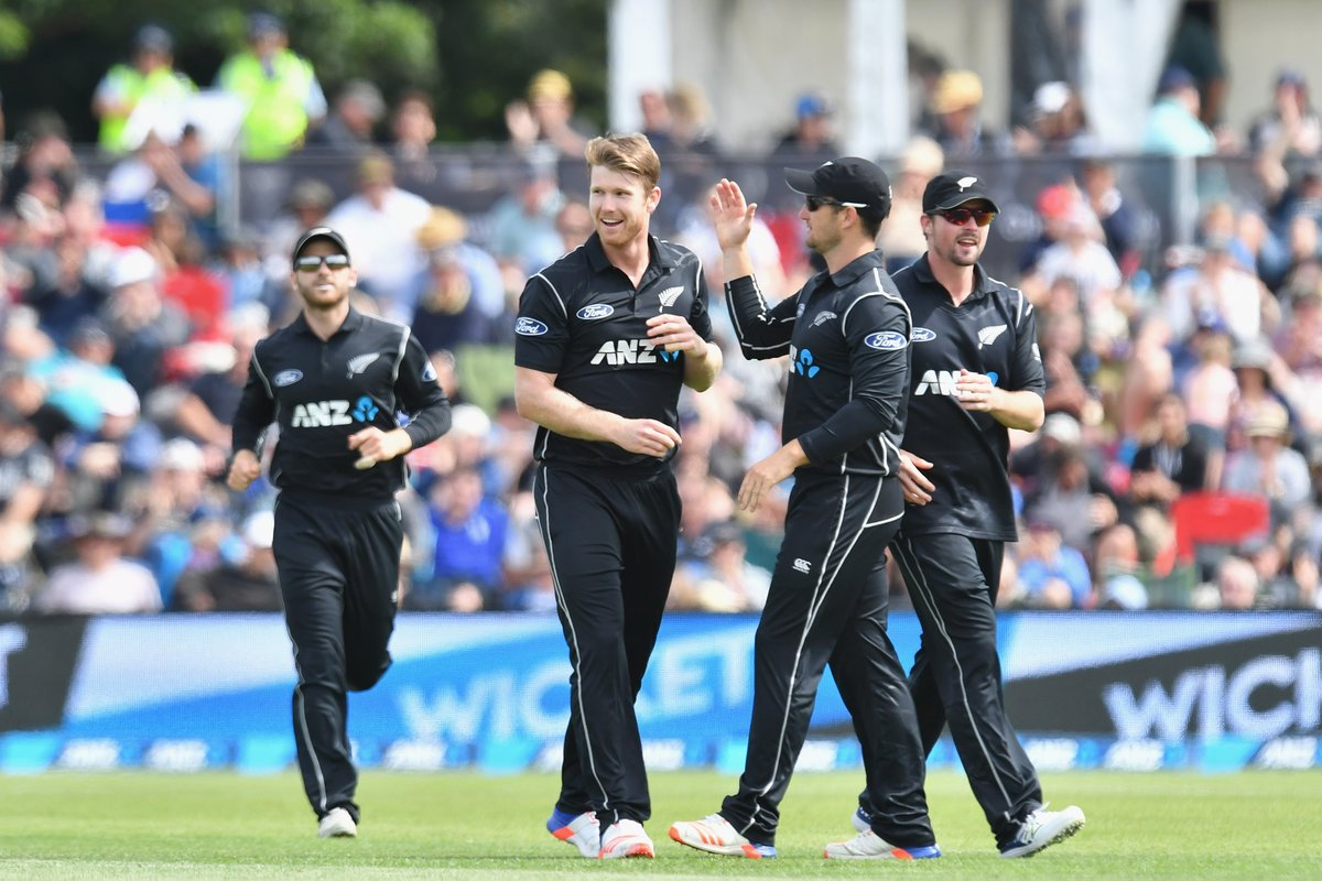 क्राइस्टचर्च एकदिवसीय : न्यूजीलैंड ने बांग्लादेश को 77 रनों से हराया