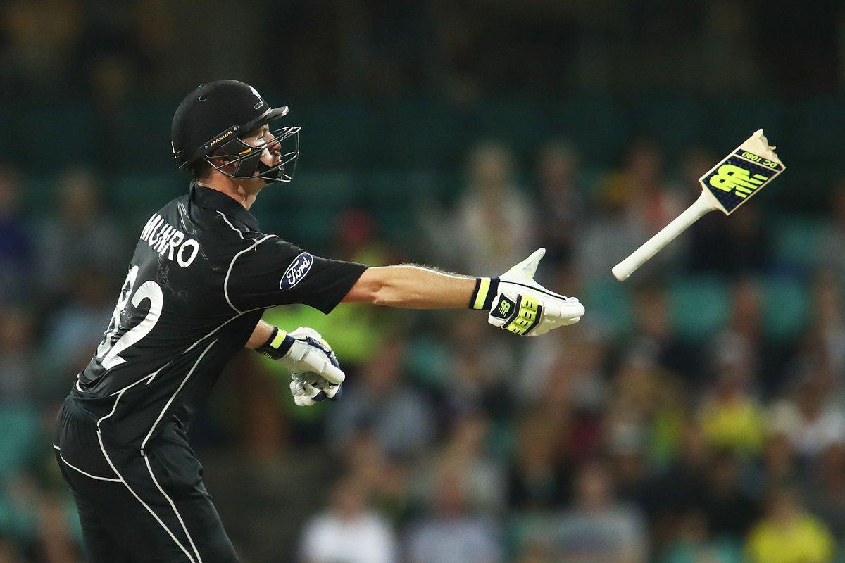 विडियो : देखें सिडनी वनडे के दौरान इस किवी बल्लेबाज़ के साथ क्या हुआ