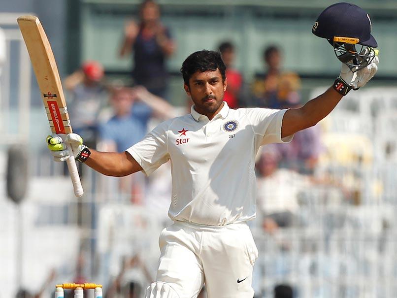 करुण नयर बांग्लादेश के खिलाफ टेस्ट के लिए तैयार
