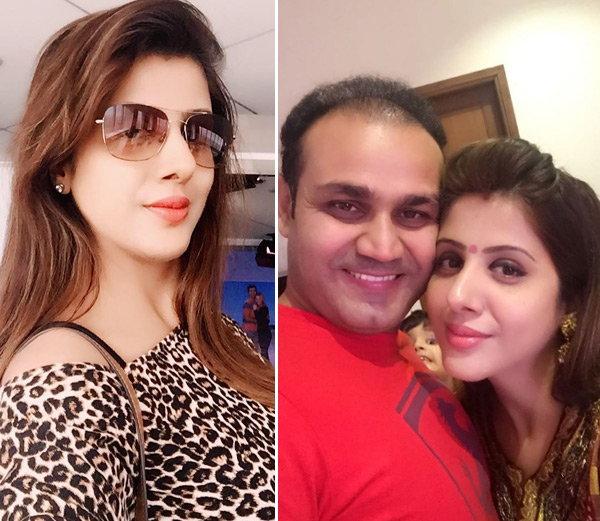 वीरेंद्र सहवाग ने अपने ही अंदाज़ में दी पत्नी आरती को जन्मदिन की बधाई