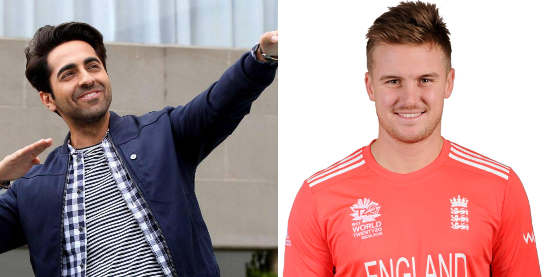 इंग्लैंड की हार के बाद इंग्लैंड के स्टार बल्लेबाज जैसन रॉय का ट्वीटर पर आयुष्मान खुराना ने बनाया मजाक 9
