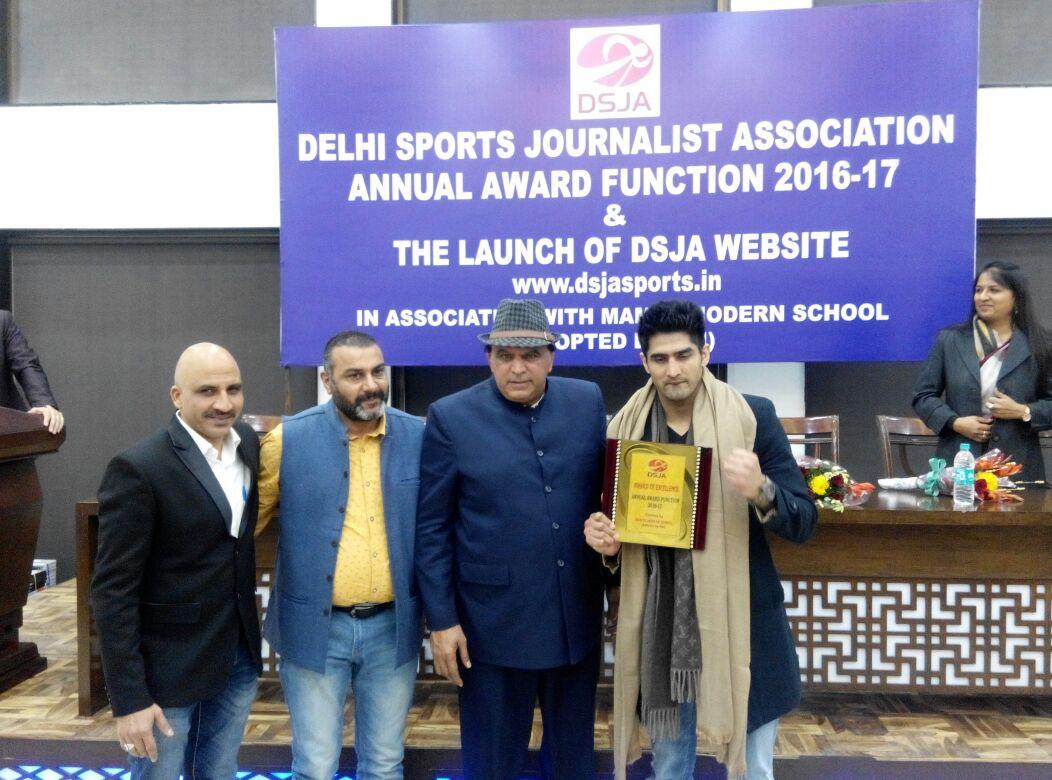 डीएसजेए के वार्षिक पुरस्कार समारोह में विजेंदर, सतपाल हुए सम्मानित 15