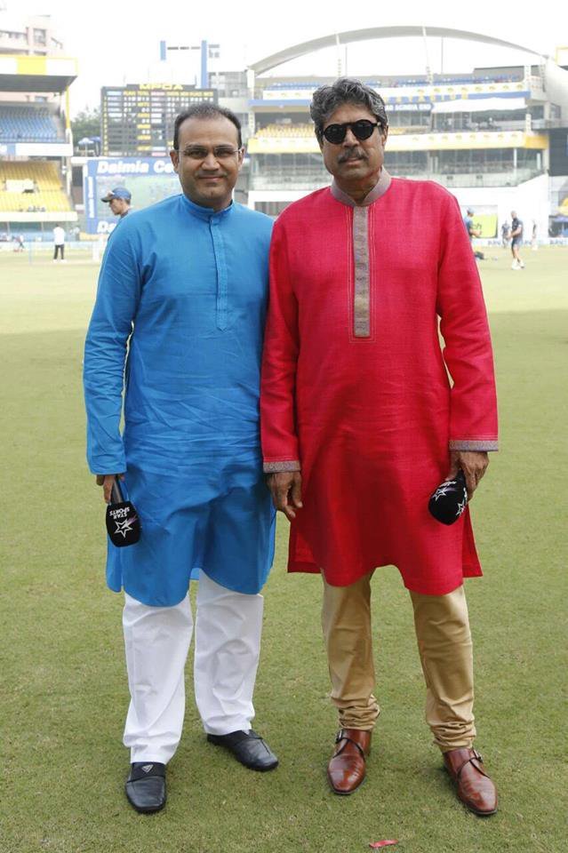 वीरेंद्र सहवाग ने अपने अनोखे अंदाज में दी पूर्व भारतीय कप्तान कपिल देव को जन्मदिन की बधाई
