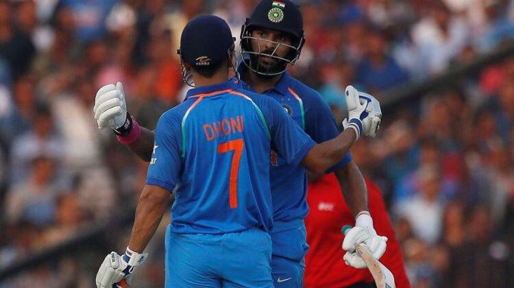 कटक एकदिवसीय : युवराज, धौनी की बदौलत भारत ने श्रृंखला पर किया कब्जा