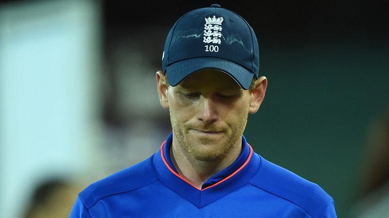 भारत बनाम इंग्लैंड: ख़राब अंपायरिंग से नाराज इंग्लैंड के कप्तान मॉर्गन 41