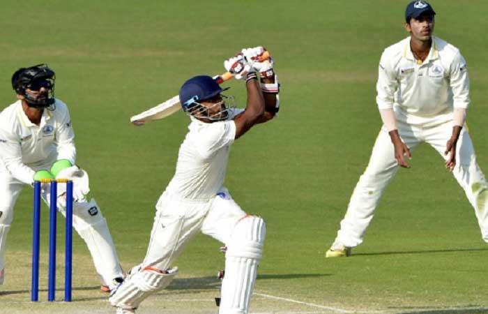 रणजी ट्रॉफी : तमिलनाडु ने 261 पर गंवाए 6 विकेट 17