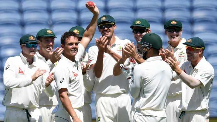 पुणे टेस्ट: तीसरा दिन मैच रिकार्ड्स: स्टीव औ'किफ ने की रिकार्ड्स की बारिश,  बेबस नजर आये भारतीय खिलाड़ी