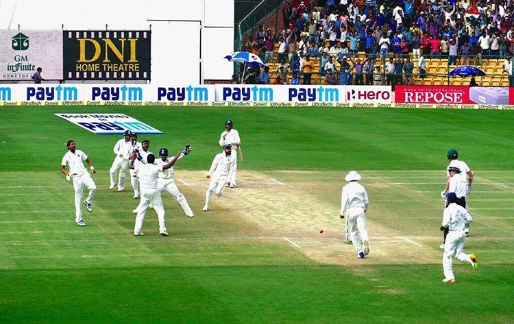 बेंगलुरु में मिली यादगार जीत के बाद कुछ ऐसा रहा सभी भारतीय खिलाड़ियों का रिएक्शन