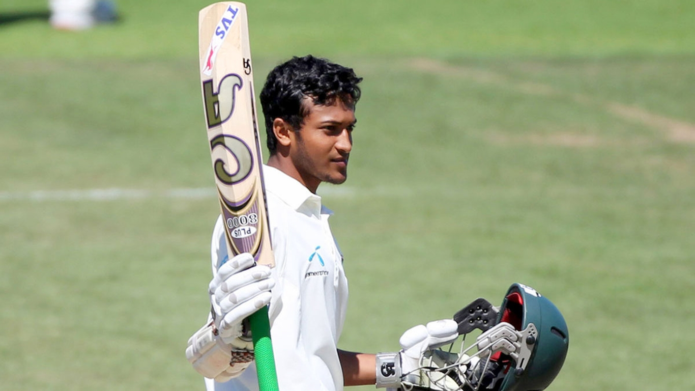 कोलंबो टेस्ट शाकिब के शतक से अच्छी स्थिति में पहुंची बांग्लादेश की टीम
