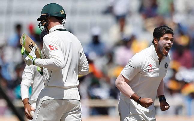 उमेश यादव ने डाली इस साल की सबसे बेहतरीन गेंद किया मेट रेंशो का शिकार