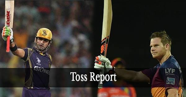 IPL10: RPS vs KKR: कोलकाता नाइट राइडर्स ने टॉस जीता पहले गेंदबाज़ी करने का फैसला किया