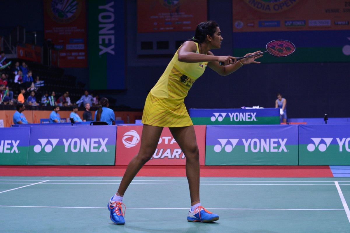 बैडमिंटन एशिया चैम्पियनशिप में सिंधु की जीत, सायना बाहर