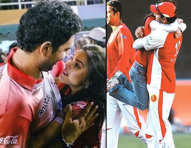 PHOTOS: जब आईपीएल के दौरान ख़ुलेआम KISS करती हुई कैमरे में कैद हुई प्रीति जिंटा…