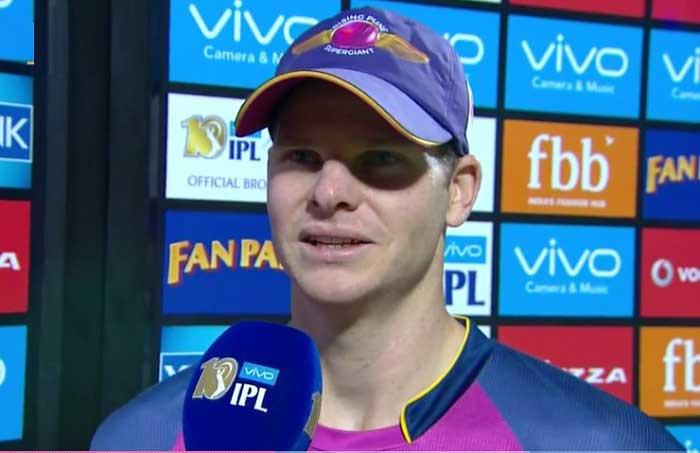 जीत के बाद पूरी टीम को भूल इस खिलाड़ी के कायल हुए आरपीएस के कप्तान स्टीवन स्मिथ 25