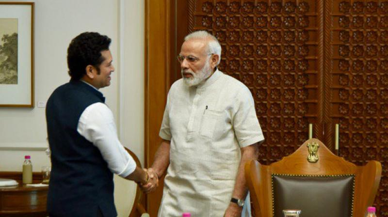 भारतीय प्रधानमंत्री नरेंद्र मोदी ने सचिन अ बिलियन ड्रीम्स पर व्यक्त की प्रतिक्रिया 17