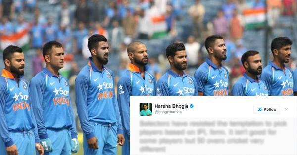 चैंपियंस ट्रॉफी के लिए चुनी गयी टीम पर हर्षा भोगले ने दी अपनी प्रतिक्रिया, आईपीएल पर दिया बड़ा बयान