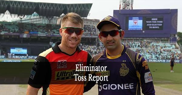 SRH vs KKR: कोलकाता नाइट राइडर्स ने टॉस जीता पहले गेंदबाज़ी करने का फैसला किया