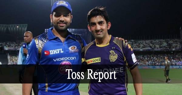 MI vs KKR:मुंबई इंडियन्स ने टॉस जीता पहले गेंदबाजी का फैसला, टीम में दिग्गज की वापसी