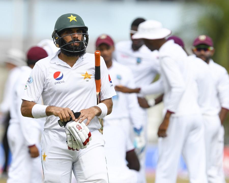 क्रिकेट के 140 वर्षों के इतिहास में ऐसा करने वाले पहले बल्लेबाज़ बने मिस्बाह उल हक