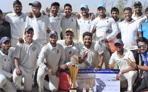 ओम नाथ सूद स्मृति क्रिकेट टूर्नामेंट कमेटी ने जीता स्पोर्टसन फ्रेंडशिप कप