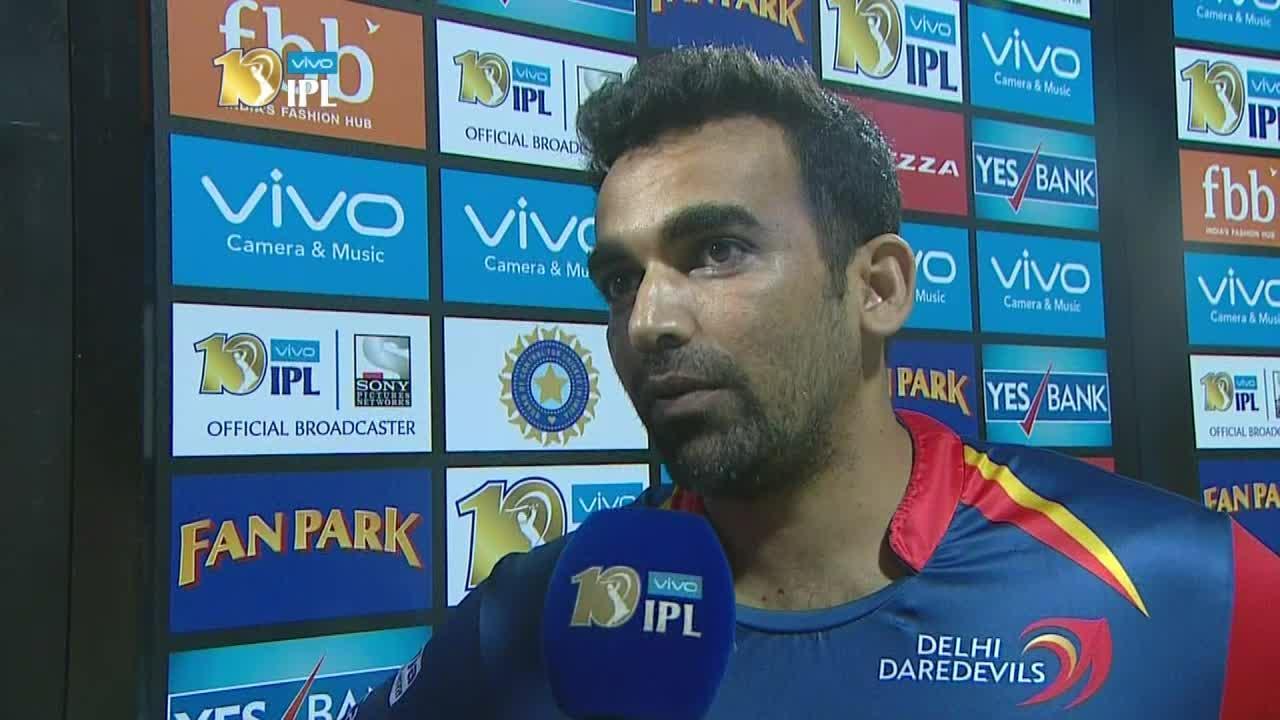 शर्मनाक हार के बाद भी दिल्ली के कप्तान ज़हीर खान ने कहा खिलाड़ियों ने वैसे ही किया जैसे उनसे कहा गया