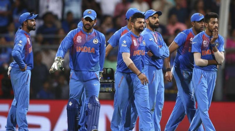 टी-20 टीमों की रैंकिंग में चौथे स्थान पर फिसला भारत