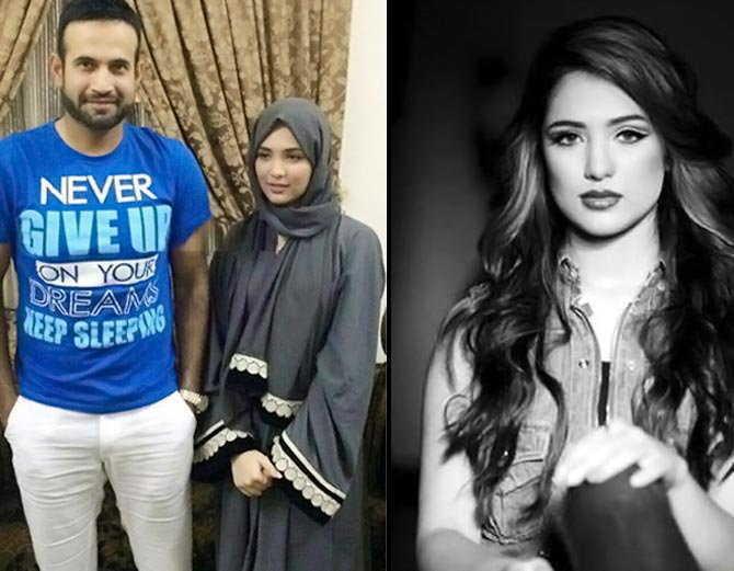 आईपीएल के दौरान इरफान पठान नजर आ रहे हैं अपनी पत्नी सफा बेगम के साथ, टीम होटल में दिखे एक साथ