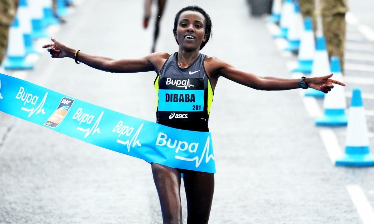 ओलम्पिक चैम्पियन डिबाबा ने जीती ग्रेट मैनचेस्टर मैराथन 26